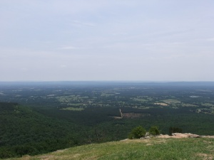 Looking east, I think, from Sunrise Point.  The city of Dardanelle should be somewhere in the center with Russellville to the left.