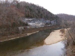 Buffalo River.Woolum CG to US65.2013-11-22.041