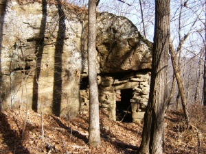 The rock house - west side