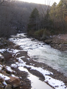 Another view of Fane Creek