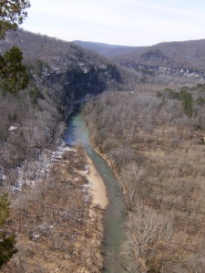 Looking downriver from the Goat Trail