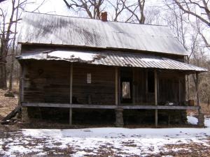 Granny Henderson's cabin