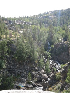 Part of Popo Agie Falls