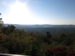 Driving home: the AR-7 overlook south of Pelsor